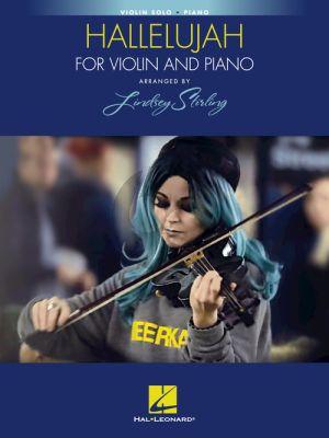 Cohen Hallelujah Violin-Piano (arr. Lindsey Stirling)