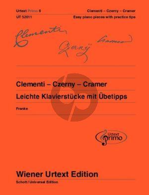 Clementi-Czerny und Cramer 32 leichte Klavierstücke mit Übetips