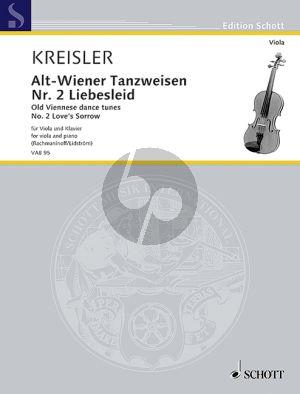 Kreisler Liebesleid (Alt-Wienertanzweisen No.2) Viola-Klavier (Mats Lidström)