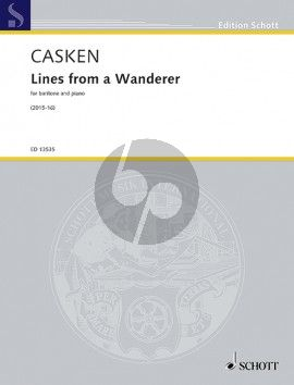 Lines from a Wanderer Baritone and Piano