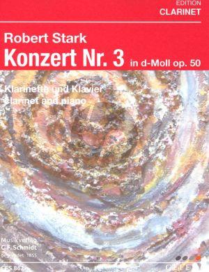 Konzert No.3 d-Moll Op. 50 Klarinette-Klavier