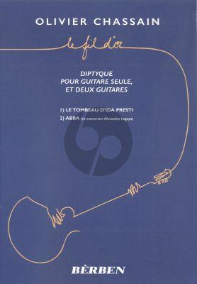Le Fil d'Or Guitar solo