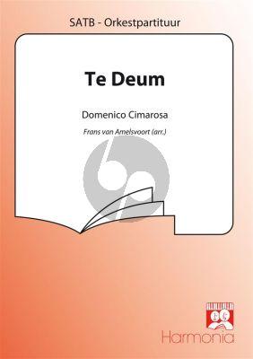 Te Deum (Napolitano 1798) SATB Partituur