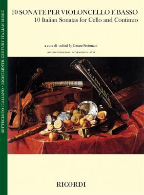 10 Italian Sonatas Violoncello-Bc