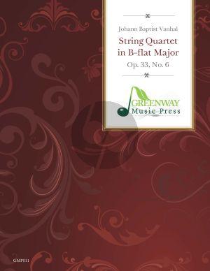 String Quartet B-flat Major Op.33 No.6