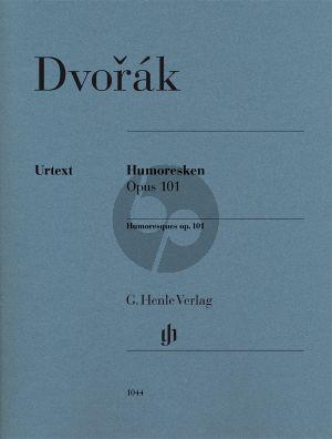 Dvorak Humoresken Op.101 Klavier (Christian Schaper und Ullrich Scheideler) (Henle-Urtext)