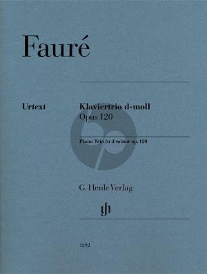 Faure Trio d-moll Op.120 Violine-Violoncello-Klavier (Part./Stimmen) (Fabian Kalb) (Henle-Urtext)