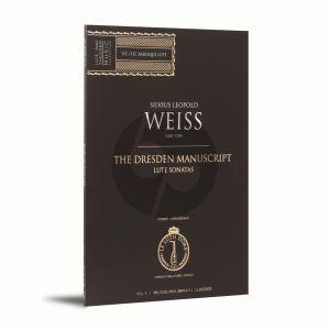 Weiss Lute Sonatas Vol.5 (The Dresden Manuscript)