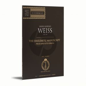 Weiss The Haslemere Manuscript Vol.1 Pieces and Lute Sonatas