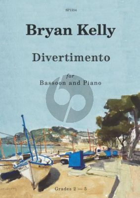 Kelly Divertimento for Bassoon and Piano