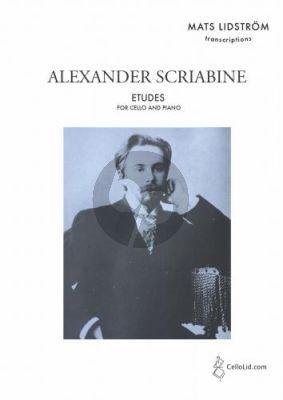 Scriabin Etudes for Cello and Piano (transcr. by Mats Lidström)