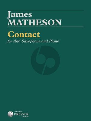 Matheson Contact Alto Saxophone and Piano