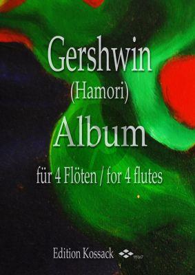 Gershwin Album für 4 Flöten (Part./Stimmen) (arr. Thomas Hamori)