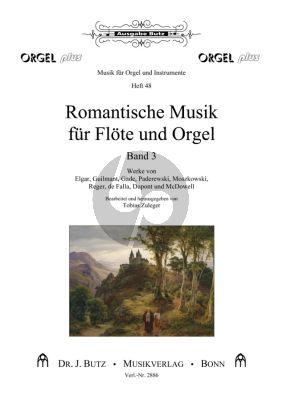 Romantische Musik für Flöte und Orgel Vol.3 (Tobias Zuleger)