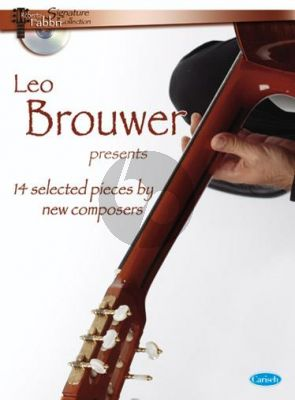 Leo Brower Presents 14 Selected Modern Compositions Guitar (Bk-Cd) (edited Roberto Fabbri)