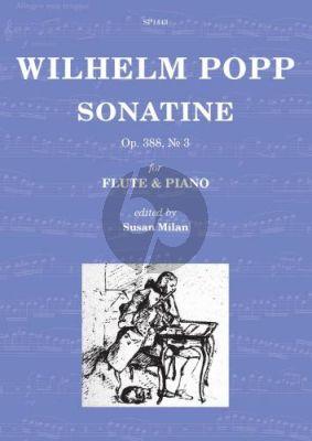 Popp Sonatine Op.388 No.3 Flute-Piano (edited by Susan Milan)