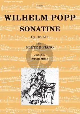 Popp Sonatine Op.388 No.4 Flute-Piano (edited by Susan Milan)