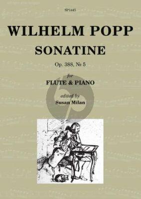 Popp Sonatine Op.388 No.5 Flute-Piano (edited by Susan Milan)