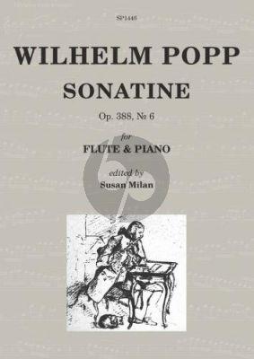 Popp Sonatine Op.388 No.6 Flute-Piano (edited by Susan Milan)