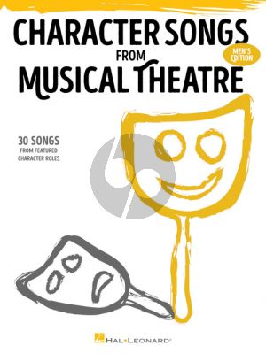 Character Songs from Musical Theatre – Men's Edition