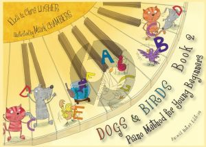 Lusher Dogs & Birds Piano Method 2 (animal notes edition)