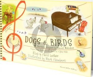 Lusher Dogs & Birds Nursery Rhymes / Famous Melodies (animal notes edition)
