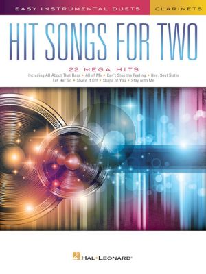 Hit Songs for Two Clarinets