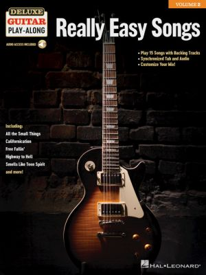 Really Easy Songs Deluxe Guitar Play-Along Volume 2 (Book with Audio online)