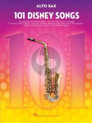 101 Disney Songs for Alto Sax
