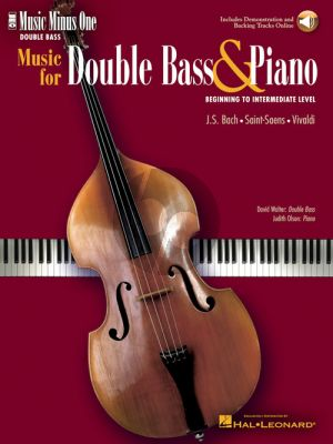 Music for double bass and piano (Book with Audio online) (Music Minus One) (David Walter)