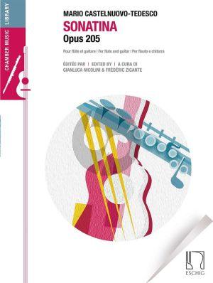 Castelnuovo-Tedesco Sonatina Op.205 Flute-Guitar (Nicolini/Zigante)