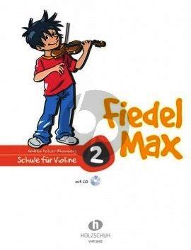 Holzer-Rhomberg Fiedel-Max für Violine Schule Vol.2 (Bk-Cd)