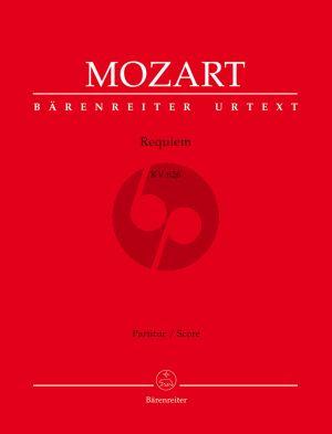 Mozart Requiem KV 626 Soli-Choir-Orchestra Full Score (Süssmayr) (ed. Leopold Nowak) (Barenreiter-Urtext)