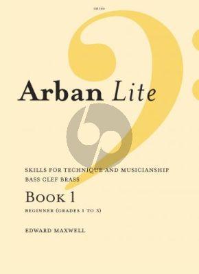 Maxwell Arban Lite Vol. 1 Bass Clef Trombone