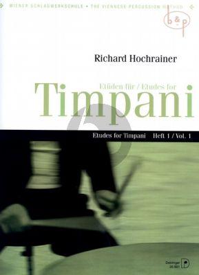Etuden fur Timpani Vol.1
