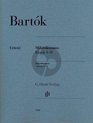 Bartok Mikrokosmos Vol.1-2 Klavier (Yusuke Nakahara) (Henle-Urtext)