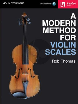 Thomas A Modern Method for Violin Scales (Book with Audio online)