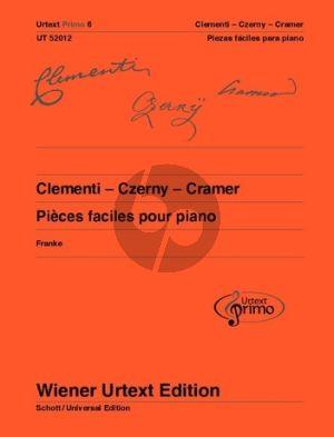 Clementi-Czerny und Cramer 32 pièces faciles avec conceils d'exercice Piano (Nils Franke)