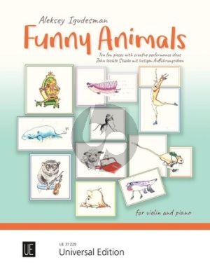 Igudesman Funny Animals for Violin and Piano