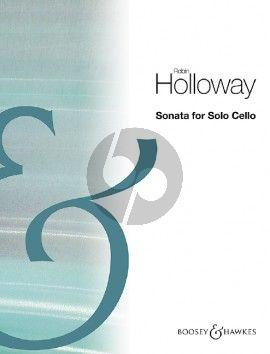 Holloway Sonata Op.91 for Cello solo