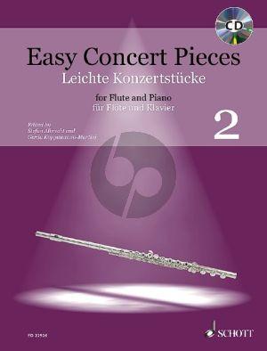 Easy Concert Pieces (Leichte Konzertstücke) Vol.2 Flute-Piano (Bk-Cd)