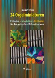 Velten 24 Orgelminiaturen