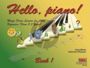 Mints-Klassen Hello Piano Book 1 (Bk-2 CDs) (English Version)