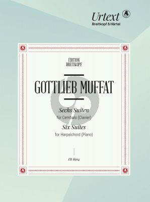 Muffat 6 Suites for Harpsichord (Clavier) (Glen Wilson)