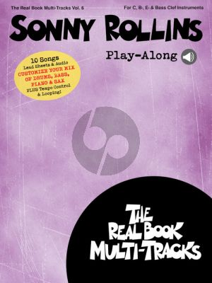 Sonny Rollins Play-Along for all C-Bb-Eb and Bass clef Instruments (Book with Audio online)