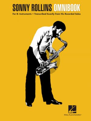 Sonny Rollins Omnibook for all Bb Instruments