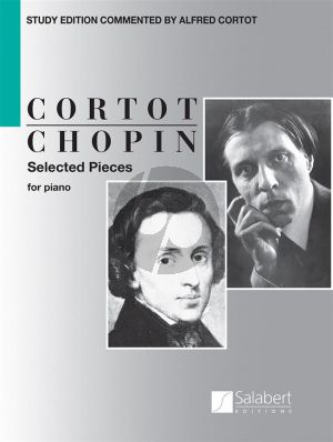 Chopin Selected Pieces Piano (edited by Alfred Cortot)
