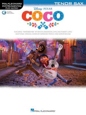Disney Pixar's Coco Instrumental Play-Along Tenor Saxophone (Book with Audio online)