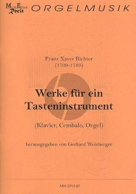 Richter Werke für ein Tasteninstrument (Gerhard Weinberger)