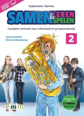 Kastelein-Oldenkamp Samen Leren & Samenspelen Vol.2 Euphonium Boek-Audio-Online